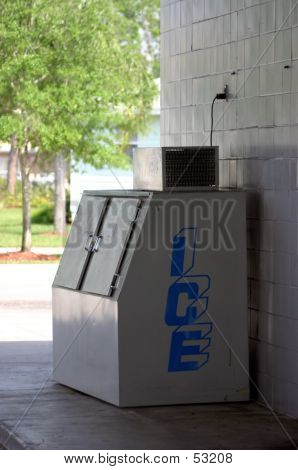 Outdoor Convenience Ice Machine