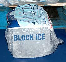 block ice 10lb