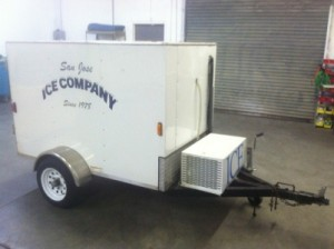 ice storage mini trailer