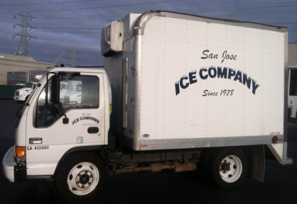 Small Ice Truck
